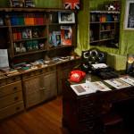 M:s kontor med bibliotek