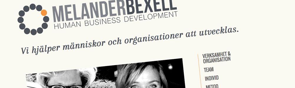 Ny hemsida till Melander Bexell